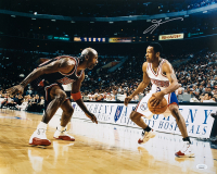 Allen Iverson Signed 76ers 16x20 Photo (JSA COA) at PristineAuction.com