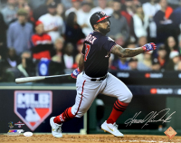 Howie Kendrick Signed Nationals 2019 World Series 16x20 Photo (JSA COA) at PristineAuction.com
