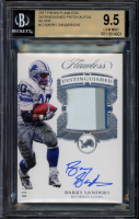 Barry Sanders 2017 Panini Flawless Distinguished Patch Autographs Silver #12 (BGS 9.5) at PristineAuction.com