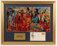 """Leroy Neiman """"100th Kentucky Derby"""" 18x23 Custom Framed FDC Envelope Display at PristineAuction.com"""