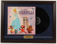 "Walt Disney's ""Cinderella"" 18.5x24.5 Custom Framed 1969 Vintage LP Display at PristineAuction.com"
