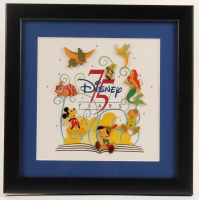 "Walt Disney ""75 Years of Love & Laughter"" LE 12.25x12.25 Custom Framed (8) Pin Display at PristineAuction.com"