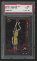 Devean George 1999-00 Topps Chrome #242 RC (PSA 9) at PristineAuction.com