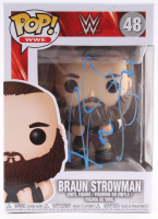 Braun Strowman Signed WWE #478 Funko Pop! Vinyl Figure (PSA Hologram) at PristineAuction.com