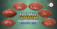 Schwartz Sports Football Superstar Signed Full-Size Football Mystery Box - Series 16 (Limited to 100) at PristineAuction.com