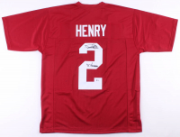 """Derrick Henry Signed Jersey Inscribed """"'15 Heisman"""" (Beckett COA) at PristineAuction.com"""