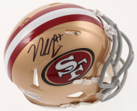 Nick Bosa Signed 49ers Speed Mini Helmet (Beckett COA) at PristineAuction.com