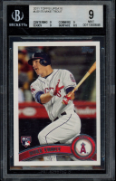 Mike Trout 2011 Topps Update #US175 RC (BGS 9) at PristineAuction.com