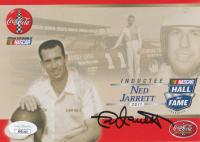 Ned Jarrett Signed 2011 HOF NASCAR 5x7 Print (JSA COA) at PristineAuction.com