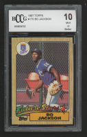 Bo Jackson 1987 Topps #170 RC (BCCG 10) at PristineAuction.com