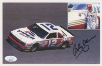 Bobby Allison Signed NASCAR 6x9 Print (JSA COA) at PristineAuction.com