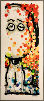 "Tom Everhart Signed 2004 ""Beauty Sleep"" 25x57.5 LE Lithograph (PA LOA) at PristineAuction.com"