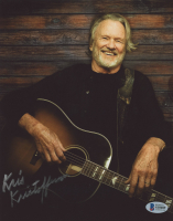 Kris Kristofferson Signed 8x10 Photo (Beckett COA) at PristineAuction.com