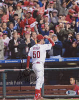 Jamie Moyer Signed Phillies 8x10 Photo (Beckett COA) at PristineAuction.com