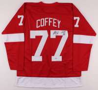 """Paul Coffey Signed Jersey Inscribed """"H.O.F. 04"""" (Beckett COA) at PristineAuction.com"""