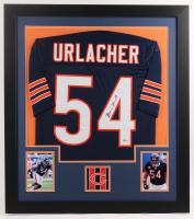 Brian Urlacher Signed 31x35 Custom Framed Jersey (Beckett COA) at PristineAuction.com