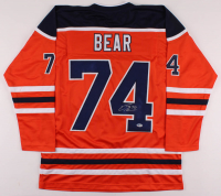 Ethan Bear Signed Jersey (Beckett COA) at PristineAuction.com
