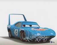 "Richard Petty Signed ""Cars"" 8x10 Photo (Beckett COA) at PristineAuction.com"