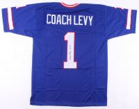 "Marv Levy Signed Jersey Inscribed ""HOF '01"" (JSA COA) at PristineAuction.com"