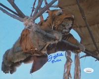 "Felix Silla Signed ""Return of the Jedi"" 8x10 Photo Inscribed ""Ewok"" (JSA COA) at PristineAuction.com"