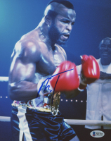 "Mr. T Signed ""Rocky III"" 8x10 Photo (Beckett COA) at PristineAuction.com"