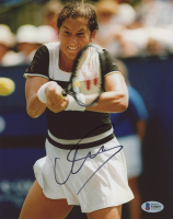 Monica Seles Signed 8x10 Photo (Beckett COA) at PristineAuction.com