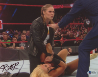 Ronda Rousey Signed WWE 8x10 Photo (Beckett Hologram) at PristineAuction.com