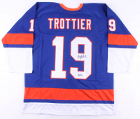 "Bryan Trottier Signed Jersey Inscribed ""HOF '97"" (JSA COA) at PristineAuction.com"