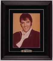 Elvis Presley 14.5x16.5 Custom Framed Photo Display with Vintage Pocketknife at PristineAuction.com