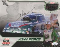 John Force Signed 8x10 Print (JSA COA) at PristineAuction.com