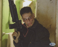 """Jon Bernthal Signed """"The Punisher"""" 8x10 Photo (Beckett COA) at PristineAuction.com"""