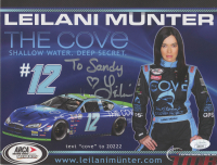 Leilani Munter Signed ARCA Menards Series 8x10 Print (JSA COA) at PristineAuction.com