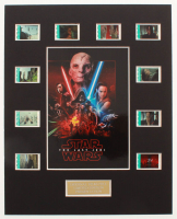 """Star Wars: The Last Jedi"" LE 8x10 Custom Matted Original Film / Movie Cell Display at PristineAuction.com"