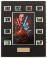 """""""Star Wars: The Last Jedi"""" LE 8x10 Custom Matted Original Film / Movie Cell Display at PristineAuction.com"""