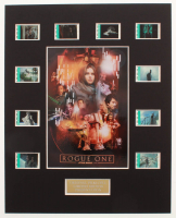 """Rogue One: A Star Wars Story"" LE 8x10 Custom Matted Original Film / Movie Cell Display at PristineAuction.com"