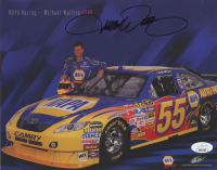 Michael Waltrip Signed 2009 NAPA Racing 8x10 Print (JSA COA) at PristineAuction.com