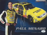 Paul Menard Signed 2010 Menards Racing 8x10 Print (JSA COA) at PristineAuction.com