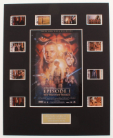 """""""Star Wars: Episode I – The Phantom Menace"""" LE 8x10 Custom Matted Original Film / Movie Cell Display at PristineAuction.com"""