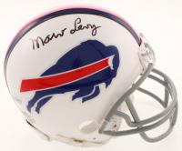Marv Levy Signed Bills Mini Helmet (Beckett COA) at PristineAuction.com