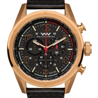 Weil & Harburg Peake Men's Swiss Chronograph Watch at PristineAuction.com