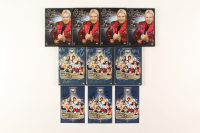 Lot of (7) WWE DVD Covers Signed by (5) with Bobby Heenan, Sunny, Jimmy Hart, Jim Cornette, Paul Bearer (JSA ALOA) at PristineAuction.com