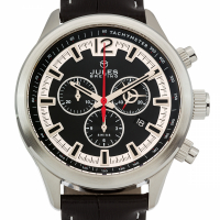 Jules Breting Nostromo Men's Swiss Chronograph Watch at PristineAuction.com