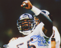 "Otis Wilson Signed Bears 8x10 Photo Inscribed ""SB XX 85 Champs"" (Beckett COA) at PristineAuction.com"