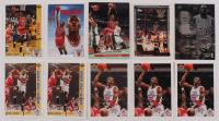 Lot of (10) Michael Jordan Basketball Cards with 1991-92 Upper Deck #44, 1991-92 Upper Deck #75 TC, 1992-93 Ultra #27 Michael Jordan at PristineAuction.com