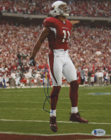 Larry Fitzgerald Signed Cardinals 8x10 Photo (Beckett COA) at PristineAuction.com
