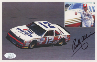 Bobby Allison Signed NASCAR 5x8 Print (JSA COA) at PristineAuction.com