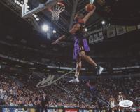 Vince Carter Signed Raptors 8x10 Photo (JSA COA) at PristineAuction.com