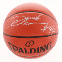 Derrick Coleman Signed NBA Game Ball Series Basketball (JSA COA) at PristineAuction.com