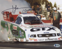 "John Force Signed 8x10 Photo Inscribed ""16"" (Beckett COA) at PristineAuction.com"