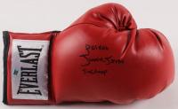 "Junior Jones Signed Everlast Boxing Glove Inscribed ""Poison"" & ""5x Champ"" (AWM Hologram) at PristineAuction.com"